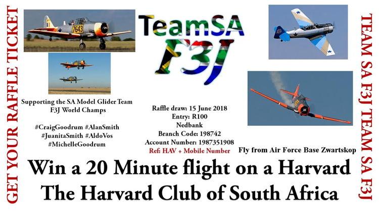 SA Model Glider team 2018 (F3J)